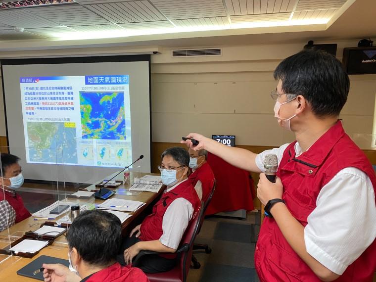 因應西南氣流可能強降雨 水利署提前防汛應變